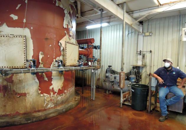 Cuba Water Tank