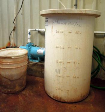 Cuba Chlorine Tank